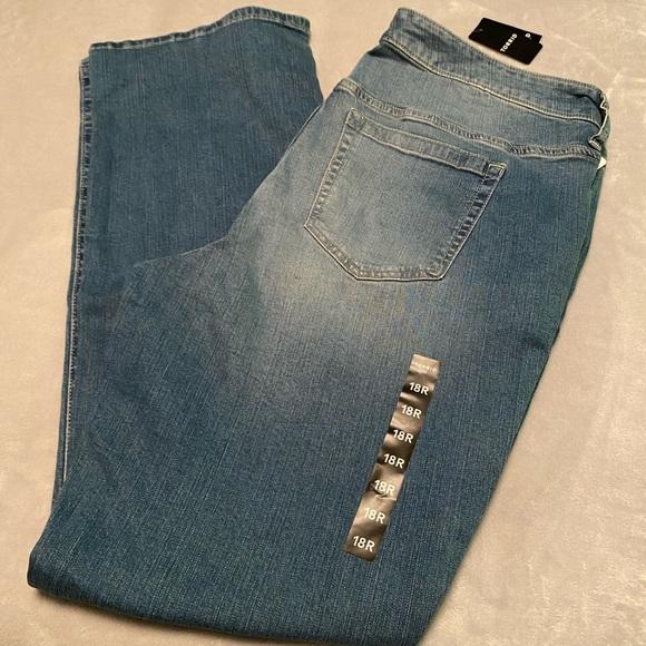 🆕 (Torrid) Slim Boot Jeans: Size 18R